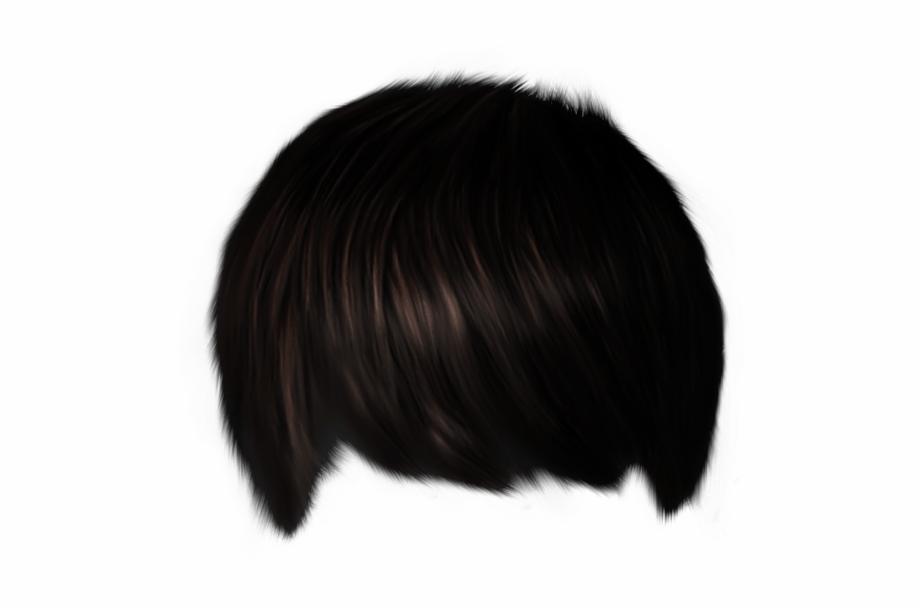 Hair Png Transparent Hair Template Rambut Cowok Png.