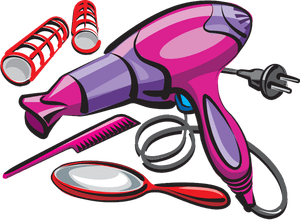 Hair tools clipart 2 » Clipart Portal.