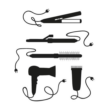 774 Hair Straightener Stock Vector Illustration And Royalty Free.