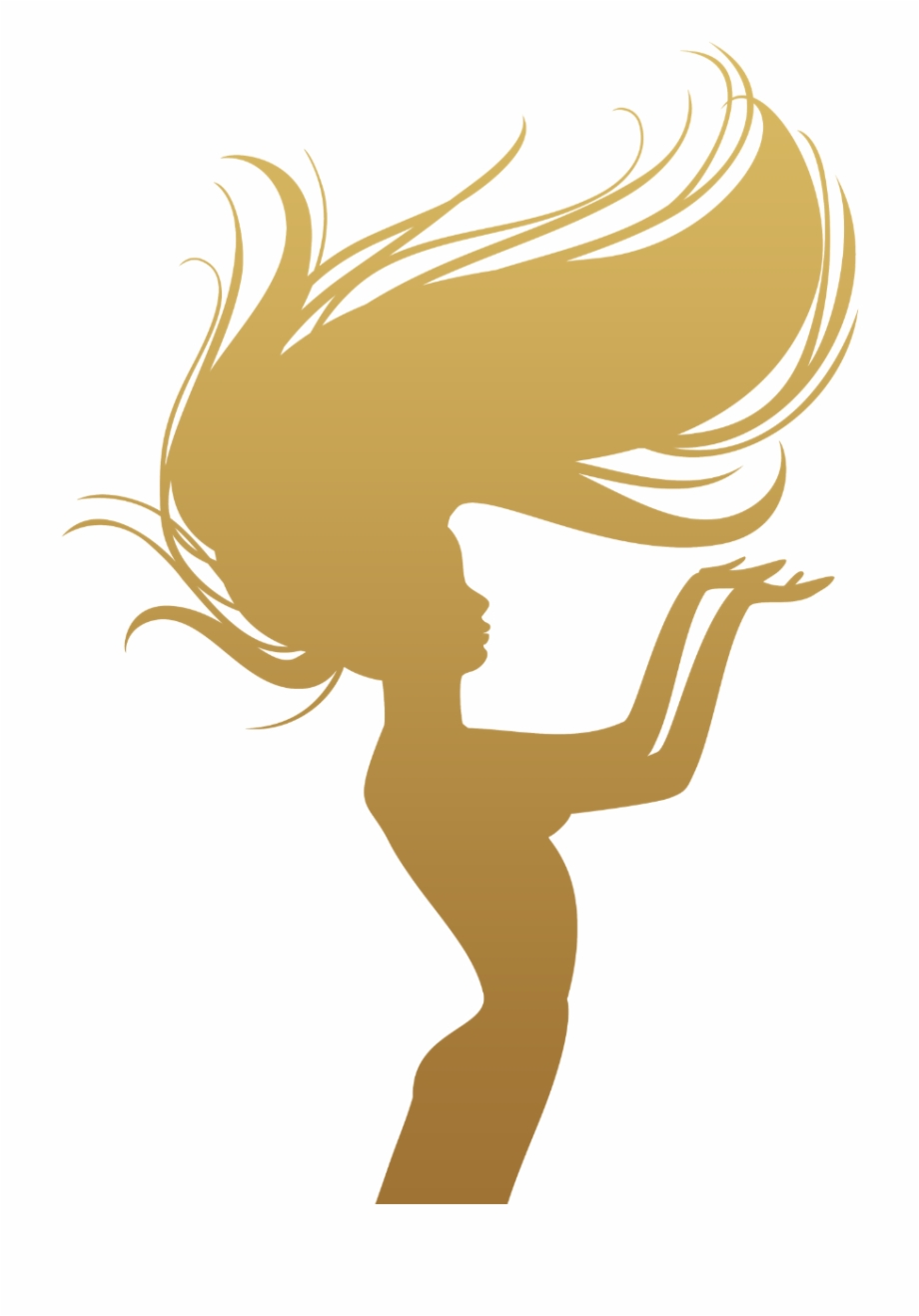 Free Hair Silhouette Free Vector, Download Free Clip Art.