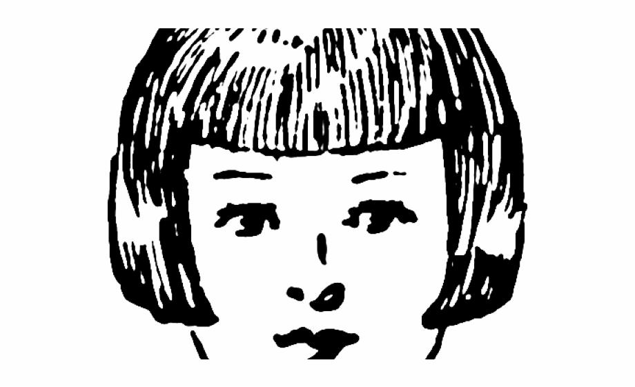 13 Short Hair Clipart Outline Free Clip Art Stock.