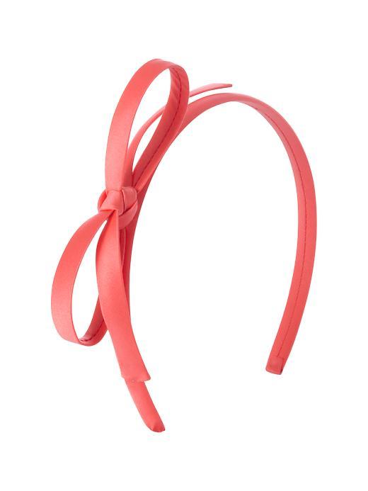 Headband with ribbon clipart.