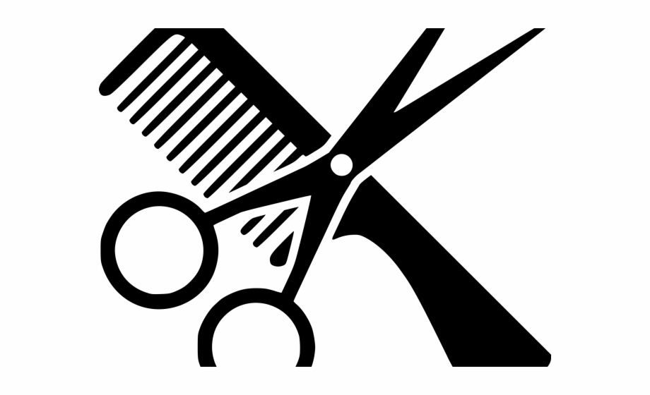 Haircut Clipart Scissors Icon.