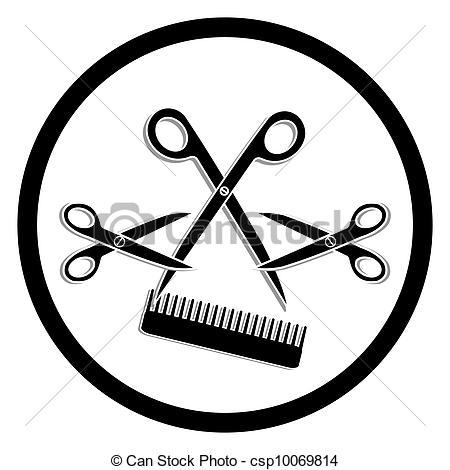 Hair Cutter Clip Art.