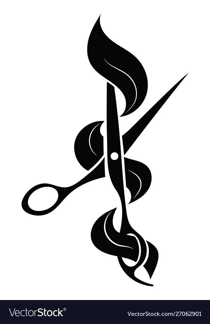 Logo for hairdresser black and white logo for.