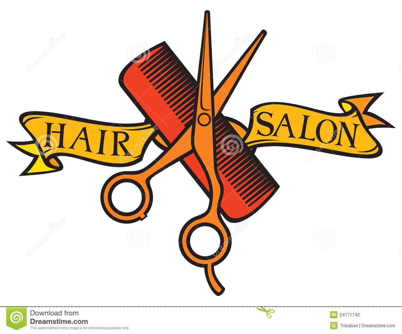 Clipart Hair Salon.