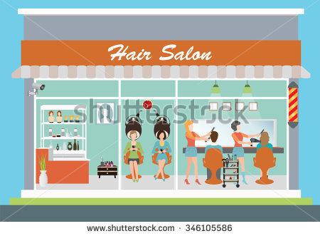 Hair Salon Stock Images, Royalty.
