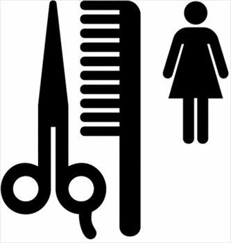 hairdresser salon clipart #3