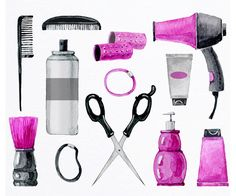 Free Hairdressing Tools Cliparts, Download Free Clip Art.