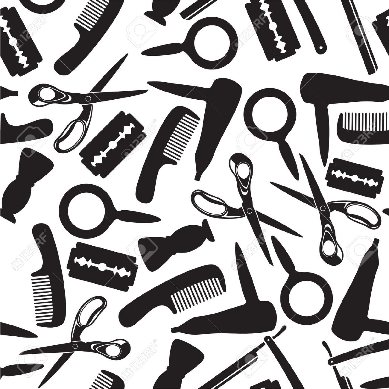 7,226 Hairdressing Stock Illustrations, Cliparts And Royalty Free.
