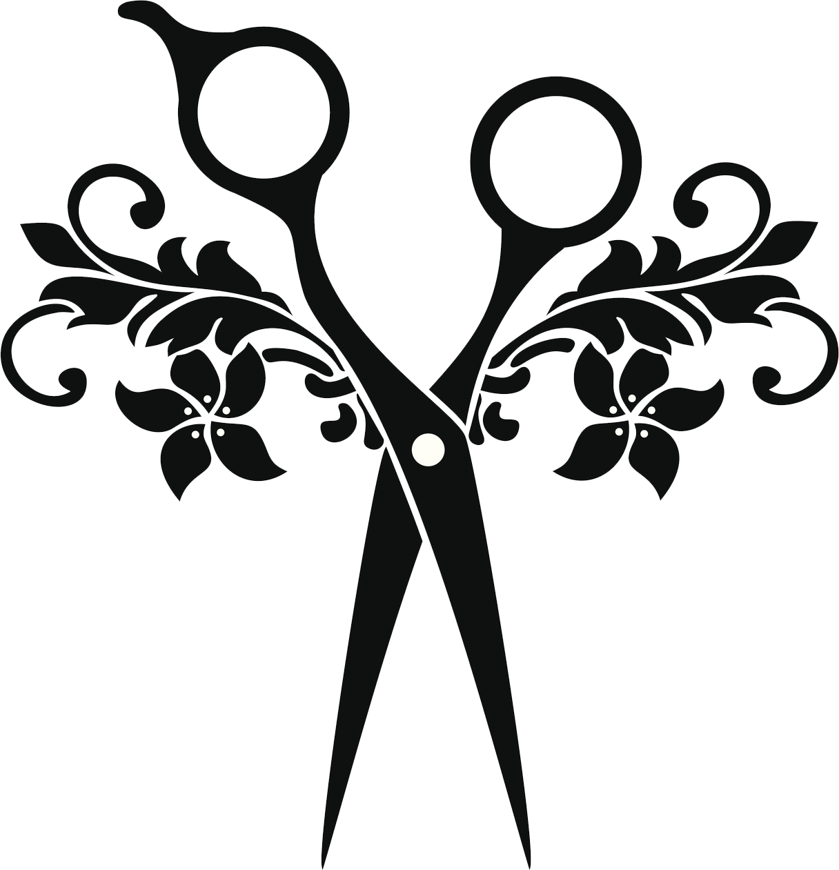 Hairdressing Scissors Clipart.