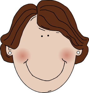 Curly Hair Clipart.
