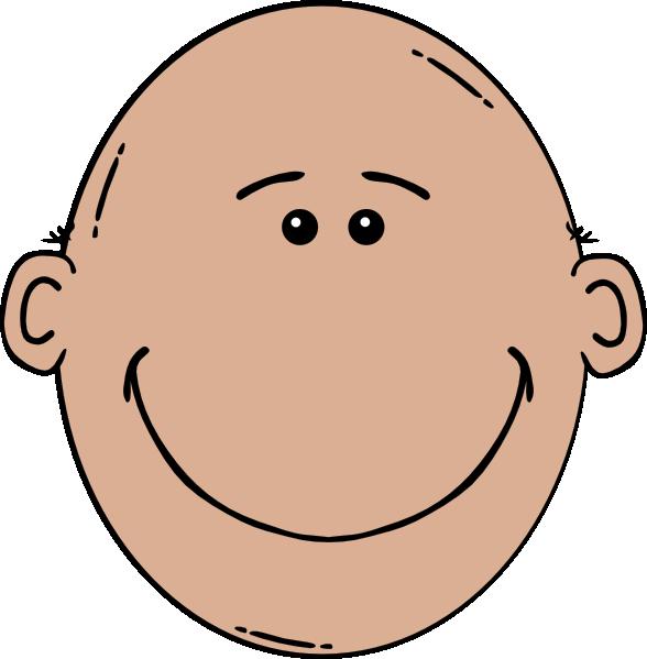 Girl bald head clipart.