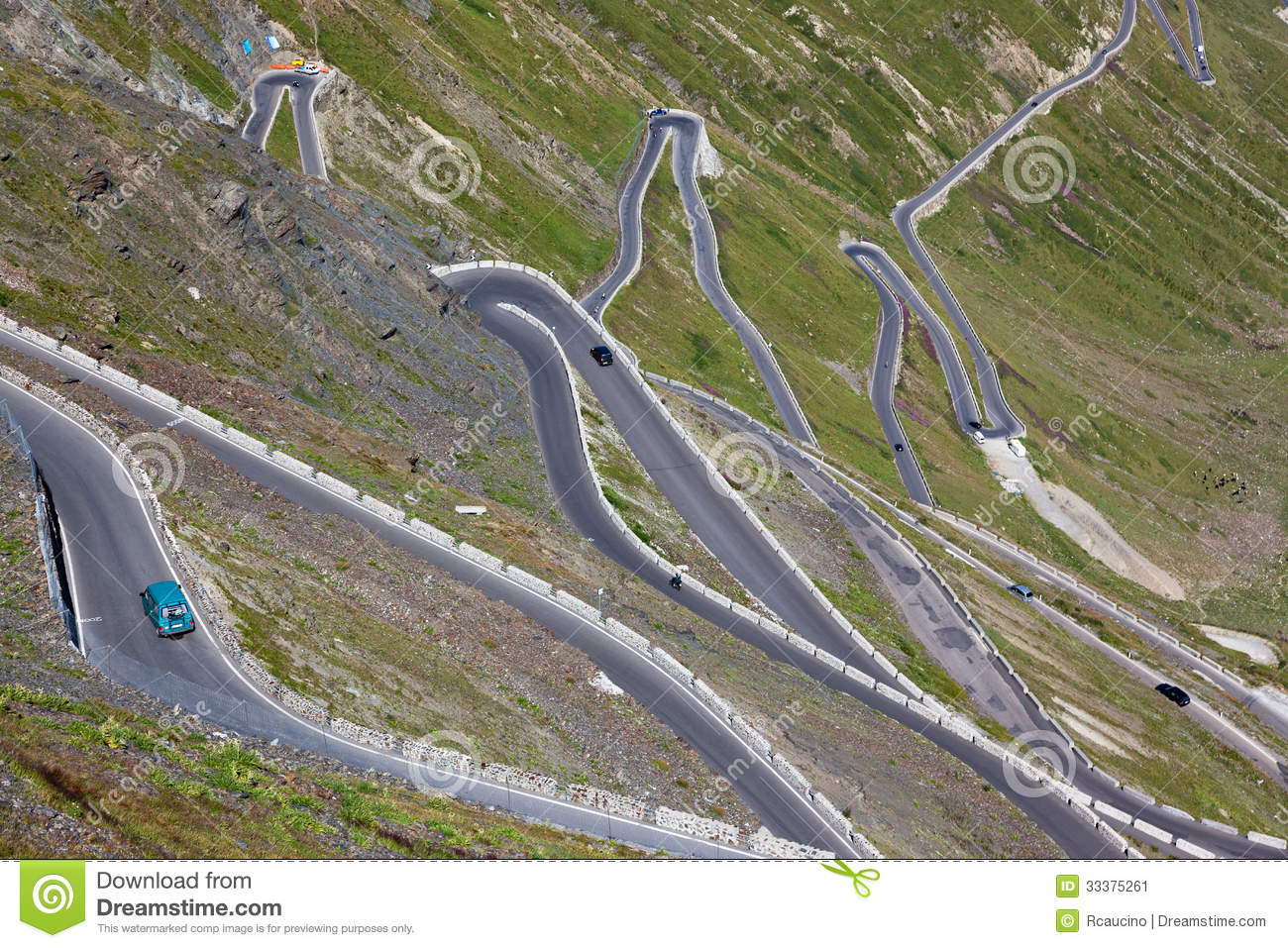 Hairpin Turn Mountain Stock Photos, Images, & Pictures.