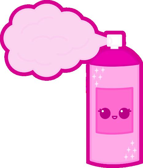 Can Hairspray Bottle.