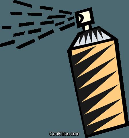Hair Spray Bottle Clipart.