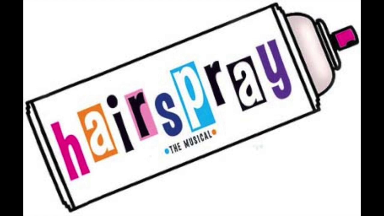 Hairspray Clipart.