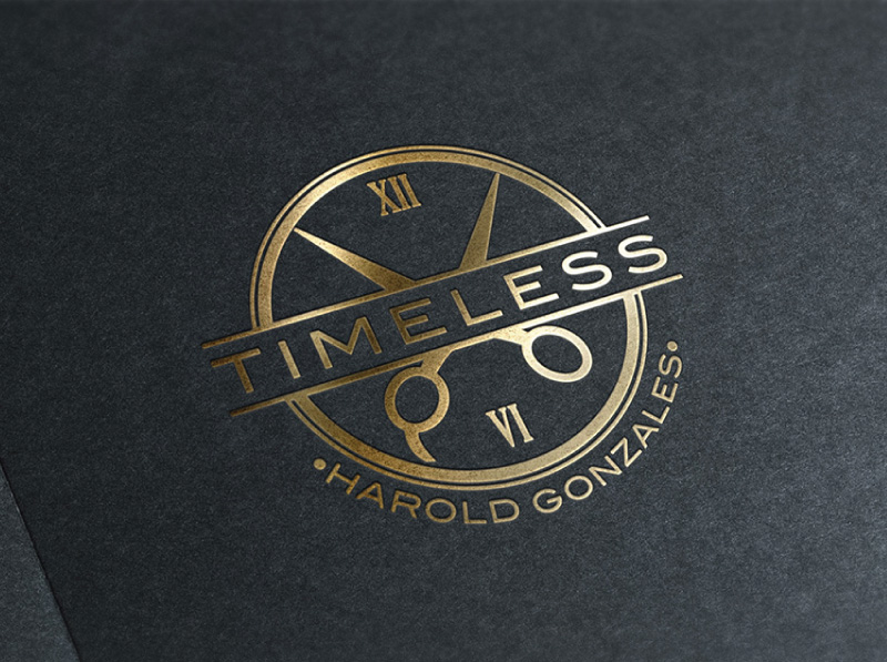 Logo Design for Men\'s Shaving and Hairstyle Line.