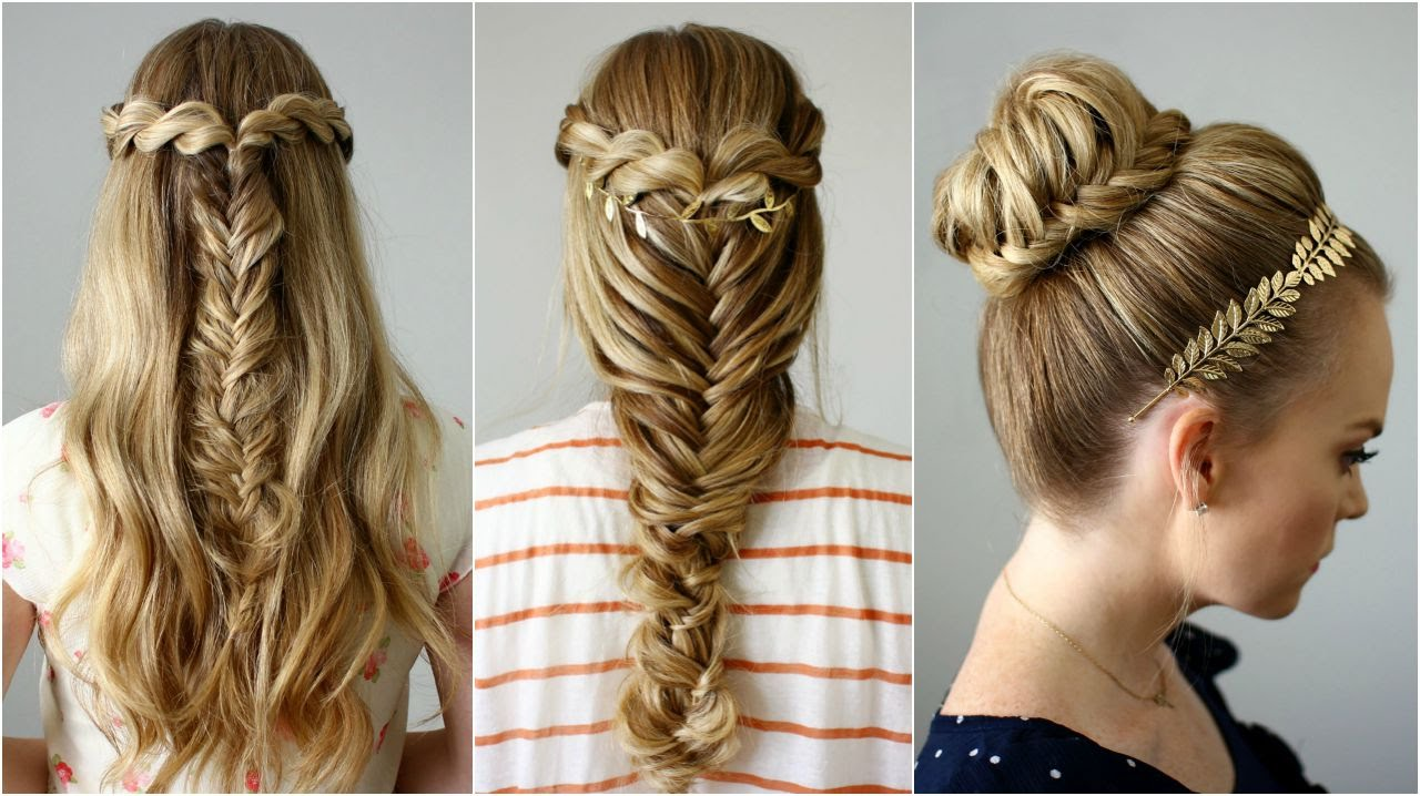 3 Back to School Hairstyles.