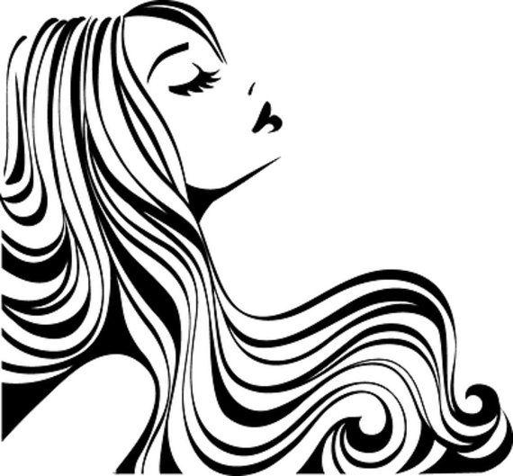 Hair Salon Decal / Hair Stylist/ Hair Studio Winow Decals/Hair.