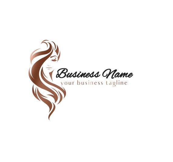 Hair Salon Logo, Hairstylist Logo, Hair Extensions Logo.