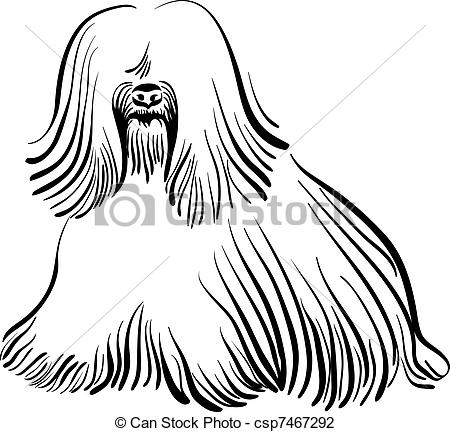 Hairy Animals Clipart.