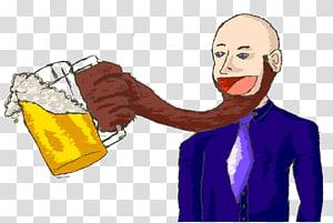 Thumb Human behavior Homo sapiens Cartoon, hairy man.
