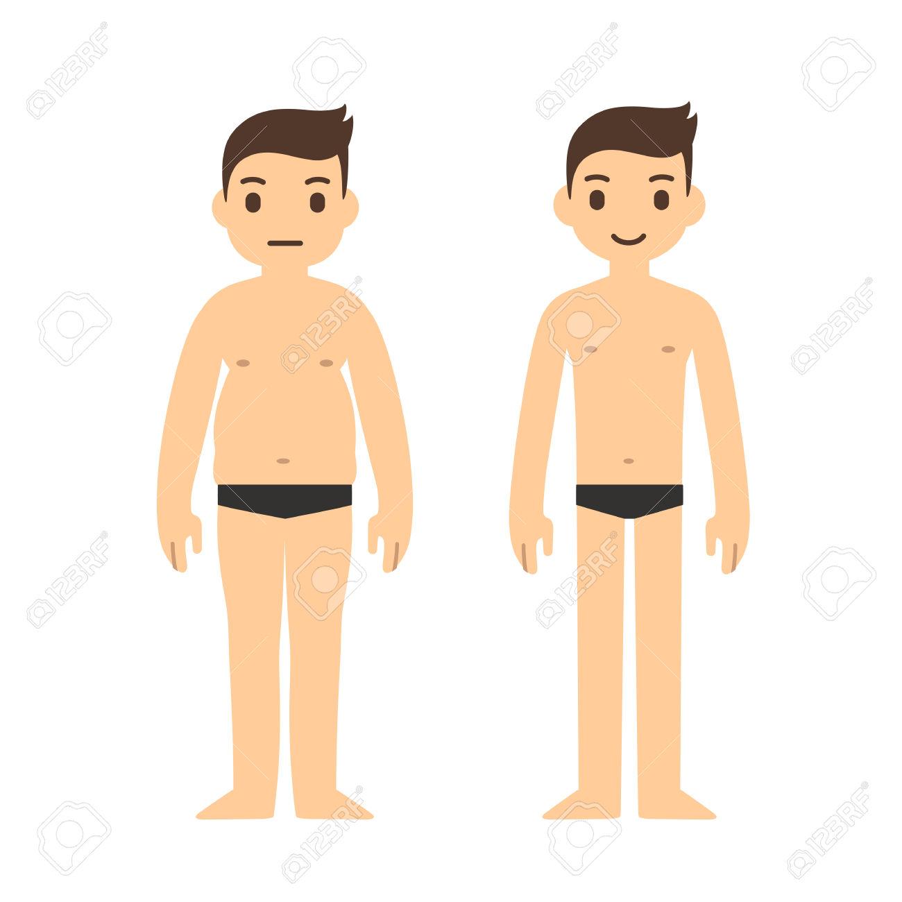Clipart Body In Underwear.