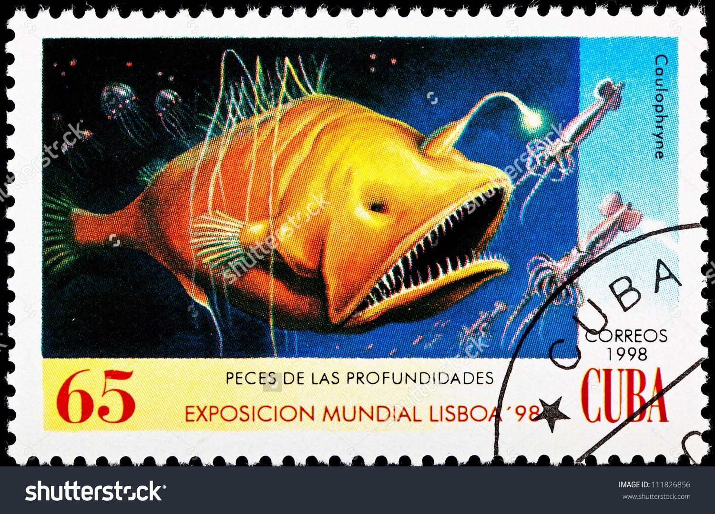 Cuba Circa 1998 Stamp Printed Cuba Stock Photo 111826856.