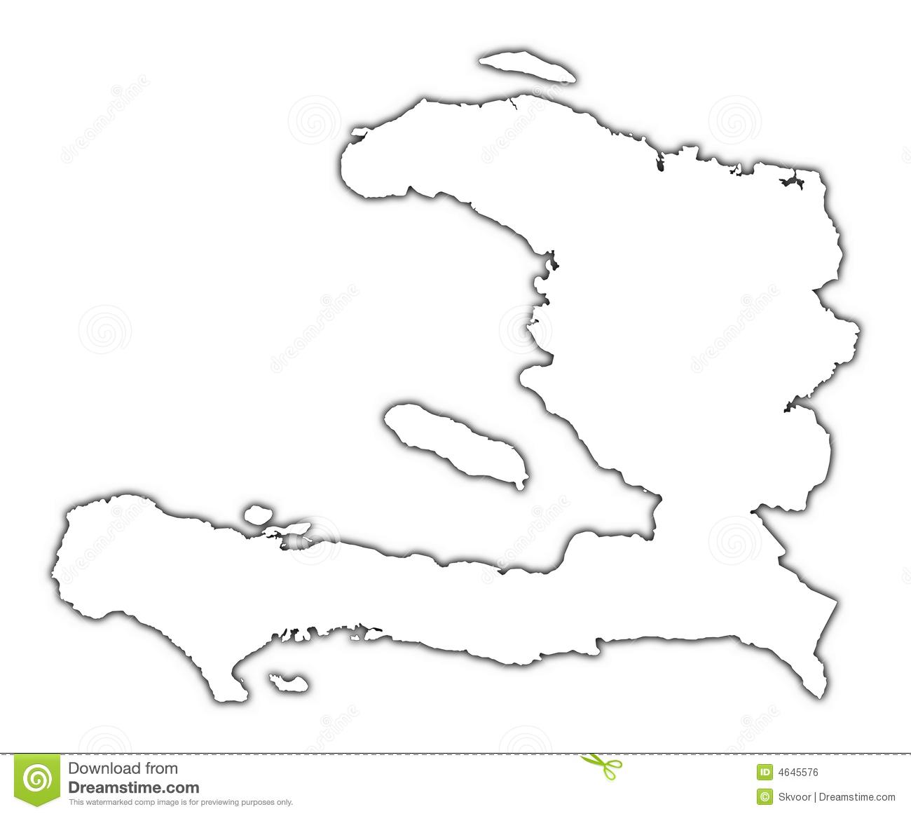 Map of haiti clipart.