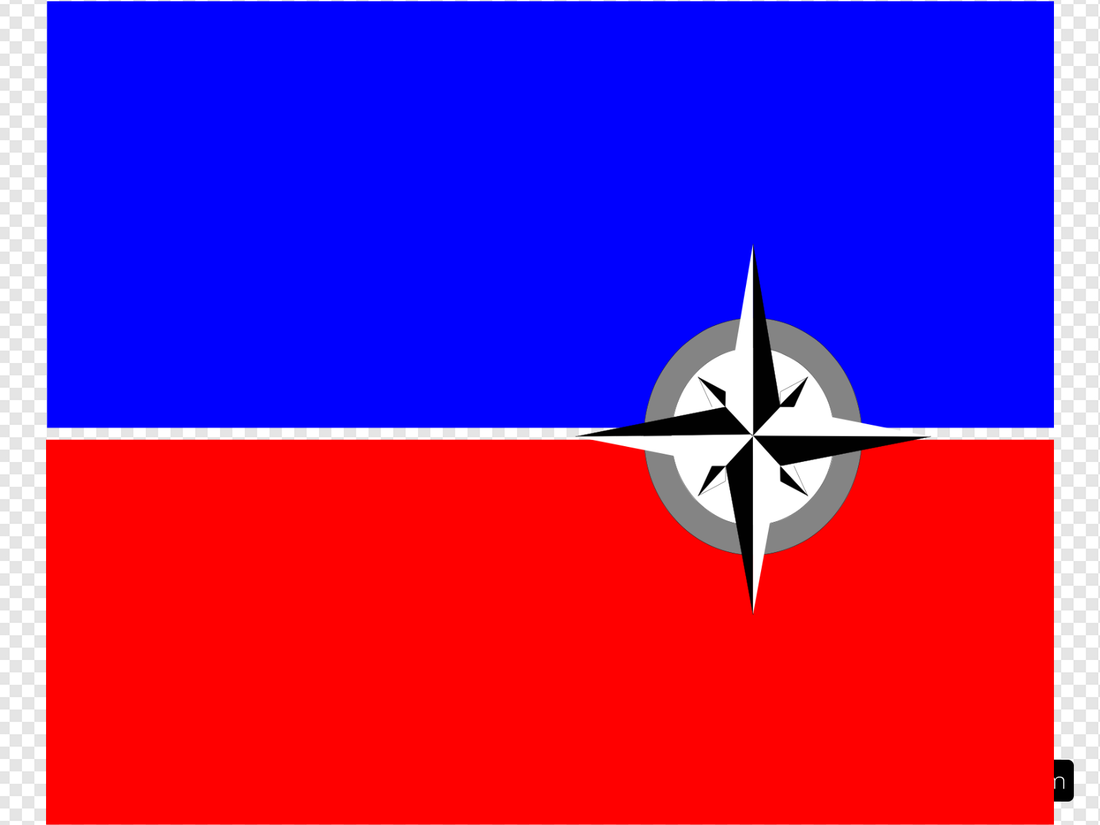 Haiti Dept. Flag Clip art, Icon and SVG.