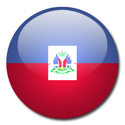 Button Flag Haiti Icon, PNG ClipArt Image.