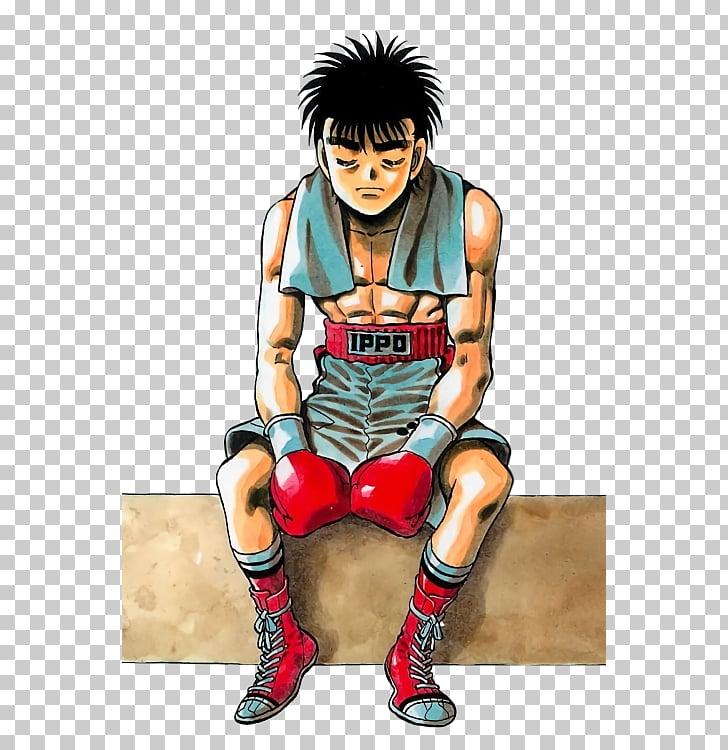 Mamoru Takamura Manga Boxing Anime, Hajime no Ippo PNG clipart.