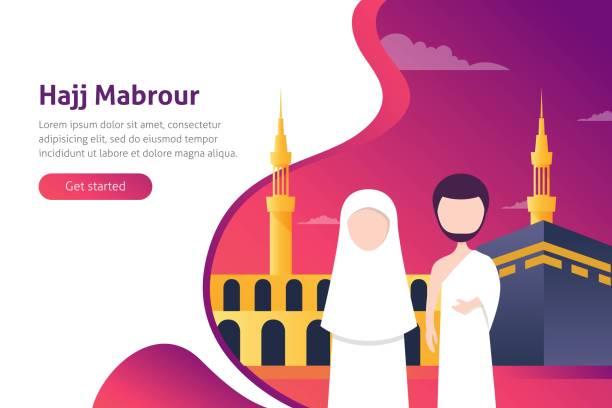 Best Hajj Illustrations, Royalty.