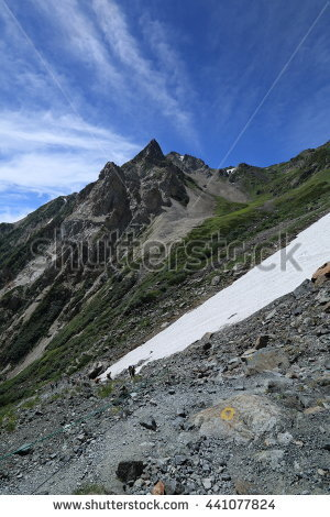 Japanese Northern Alps Stock Photos, Royalty.