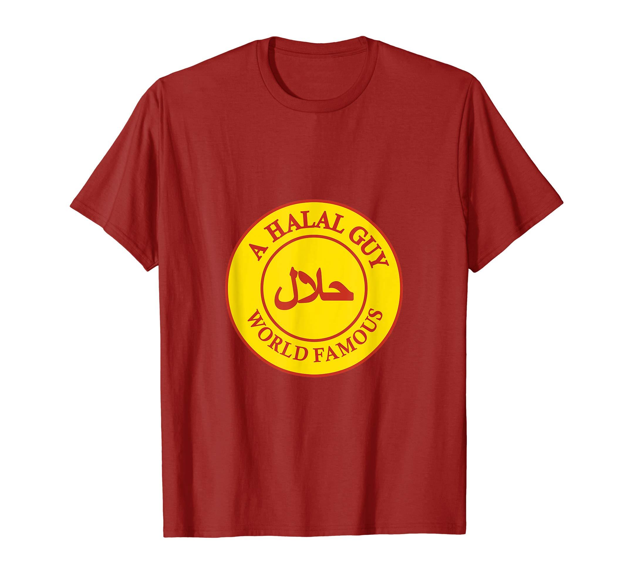 Amazon.com: Mens A Halal Guy Logo T.
