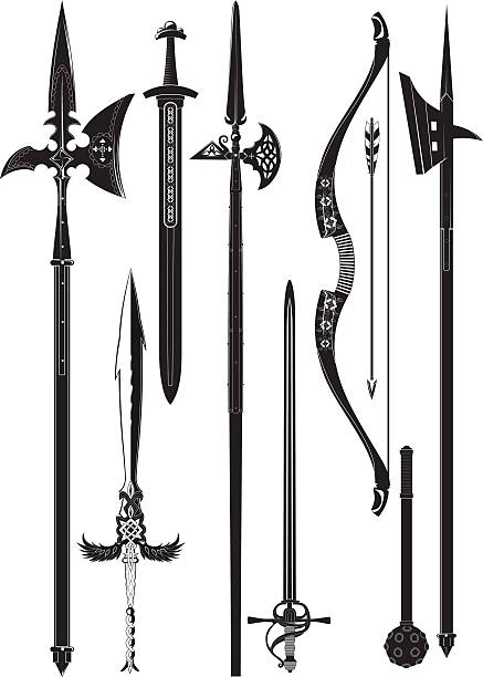 Halberd Clip Art, Vector Images & Illustrations.