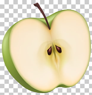 119 half Apples PNG cliparts for free download.