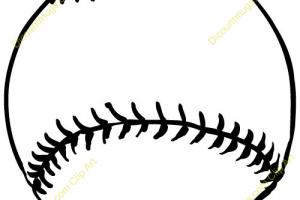 Half baseball clipart 1 » Clipart Portal.