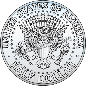 Half Dollar Coin Coloring Page http://www.abcteach.com/documents.