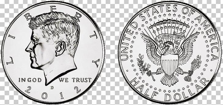 Kennedy Half Dollar Dollar Coin United States Dollar PNG.
