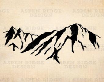 Half Dome Yosemite National Park Digital Clip Art for Instant.