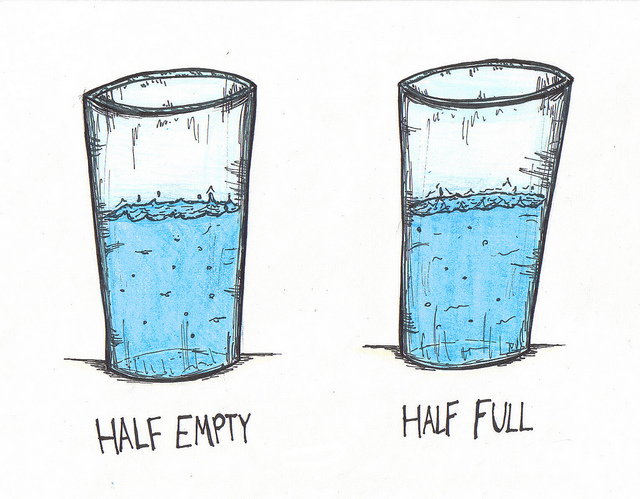 Your Cup Maybe Half Full But It's Refillable!.
