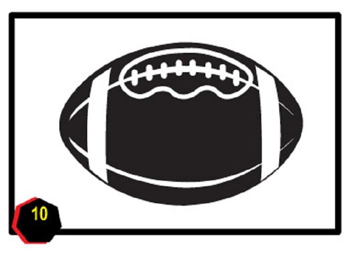 Half football clipart 2 » Clipart Portal.