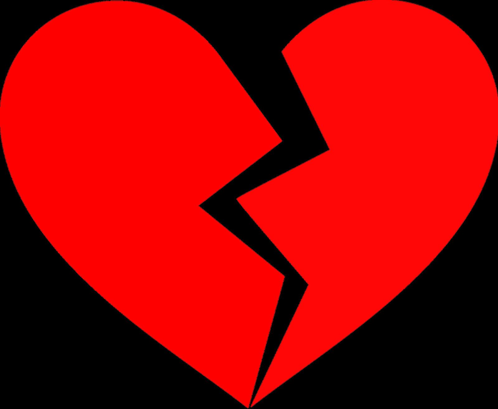Half Heart Clipart.