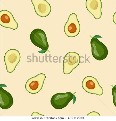 Avocado Half Stock Photos, Royalty.
