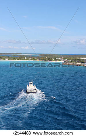 Pictures of Half Moon Cay in the Bahamas k2544488.