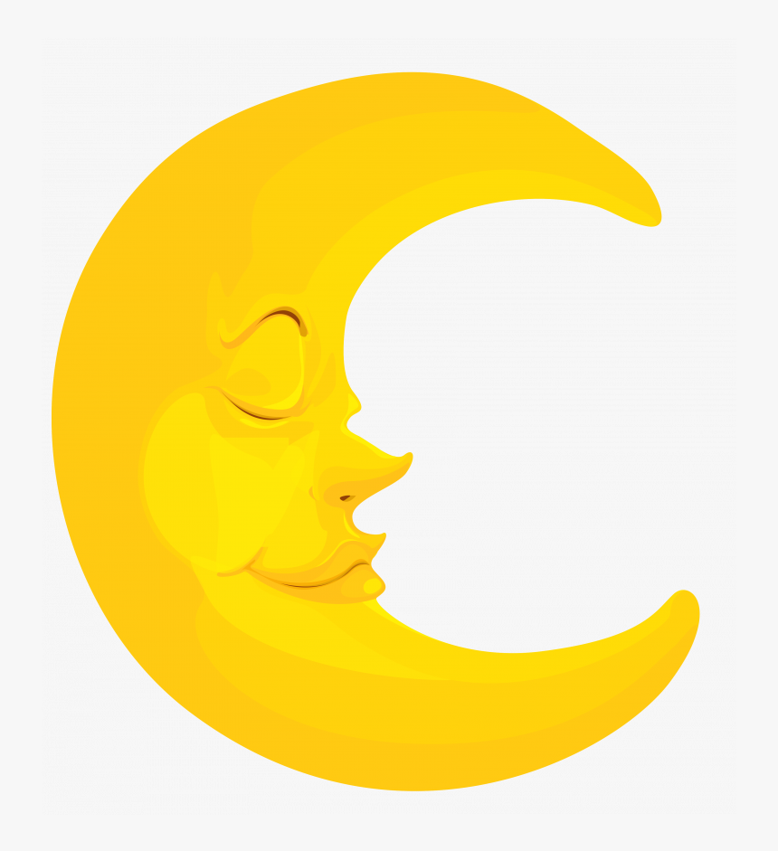 Crescent Moon Clipart Hd, HD Png Download.
