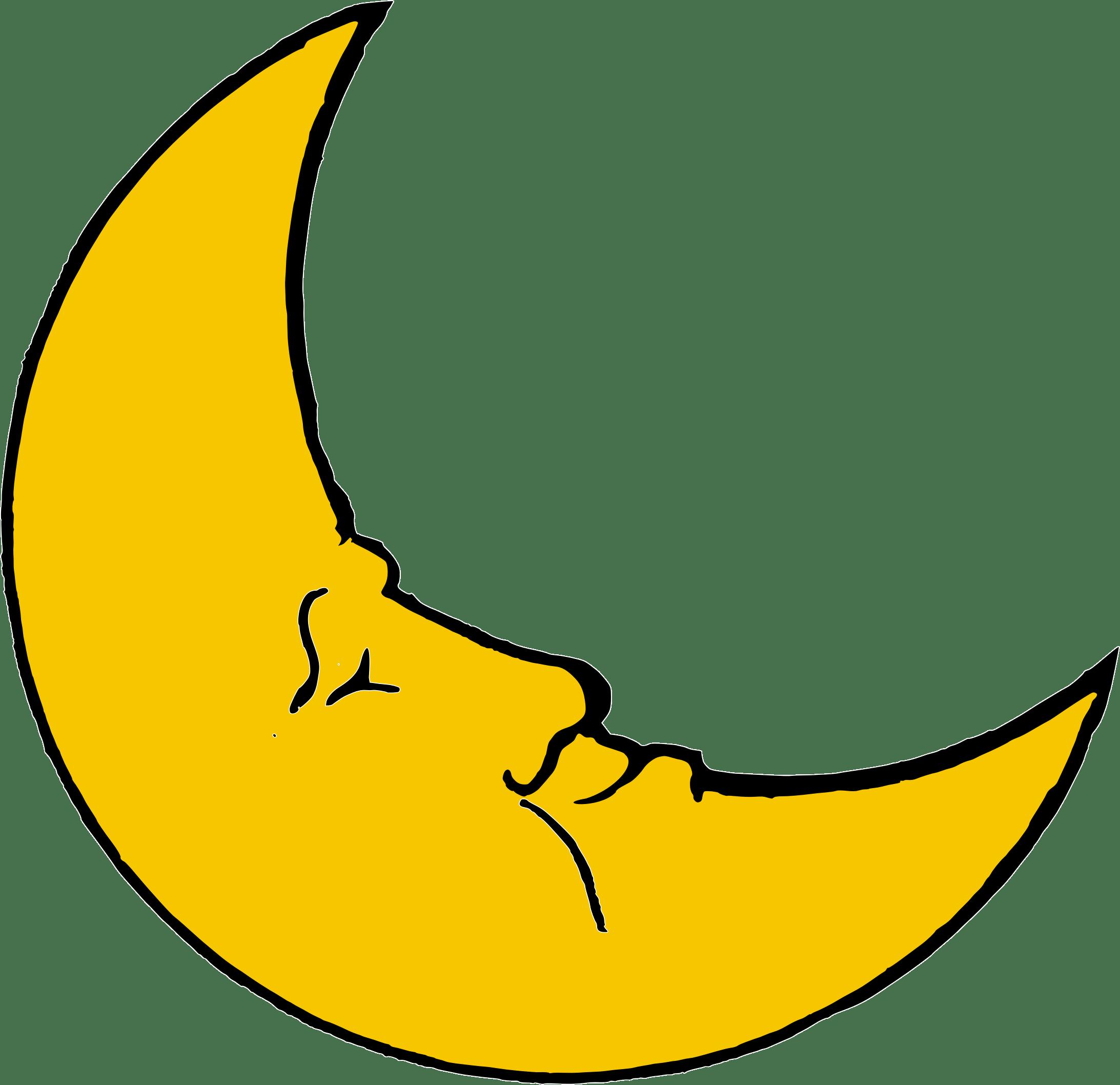 Half Moon Clipart Png.