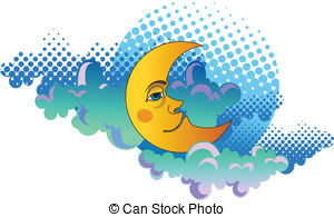 Yellow moon Stock Illustration Images. 6,079 Yellow moon.